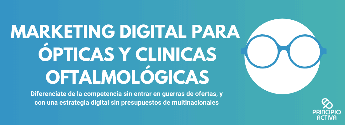 imagen cabecera marketing digital opticas y clinicas oftalmologicas